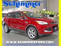 Used 2016 Ford Escape Titanium 4x4 Nav Sunroof in stock