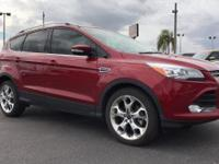 2016 Ford Escape Titanium Ruby Red Metallic Tinted