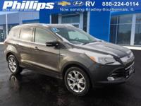 2016 Ford Escape Titanium Magnetic Certified by Carfax