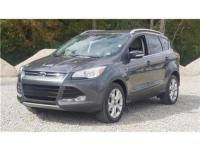 23/32 City/Highway MPG Gray 2016 Ford Escape Titanium