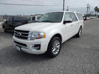 Options:  2016 Ford Expedition El Limited|White