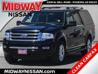 2016 Ford Expedition EL Limited Shadow Black EcoBoost