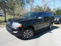 This 2016 Ford Expedition EL 4dr 2WD 4dr XLT features a