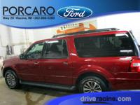 Options:  2016 Ford Expedition El Ruby Red Metallic