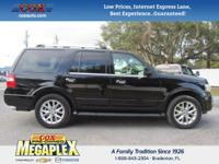 This 2016 Ford Expedition Limited in Black is well