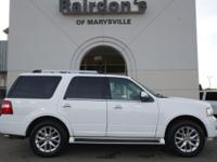 2016 Ford Expedition Limited 4WD 4x4 1-Owner  Luxury