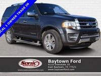 Cruising in this 2016 Ford Expedition Platinum is