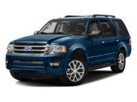 Certified. Ford Expedition XLT Black