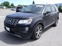 This 2016 Ford Explorer has a V6, 3.5L high output