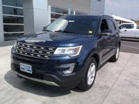 Sturdy and dependable, this 2016 Ford Explorer XLT lets