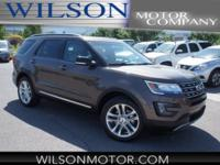 Caribou Metallic 2016 Ford Explorer XLT AWD 6-Speed