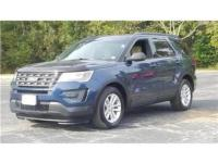Blue 2016 Ford Explorer FWD 6-Speed Automatic with