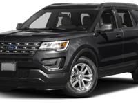 This 2016 Ford Explorer 4dr FWD 4dr features a 2.3L 4