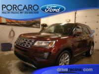 Options:  2016 Ford Explorer Limited|Bronze Fire