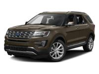 2016 Ford Explorer Limited in Gray. Get a grip with