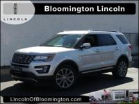 2016 Ford Explorer Limited AWD, 12 Speakers, Equipment