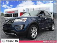 This 2016 Ford Explorer Limited has an exterior color