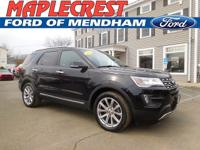 *CERTIFIED PRE OWNED 2016 EXPLORER LIMITED*CARFAX
