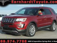 We are thrilled to offer you this 2016 Ford Explorer