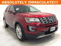Options:  2016 Ford Explorer Limited|Red|*Alloy