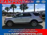 This beautiful Silver Ford Explorer Limited qualifies