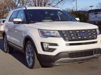 2016 Ford Explorer. Inherits the road with a