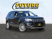 **WOW! FLAWLESS FORD CERTIFIED EXPLORER LIMITED
