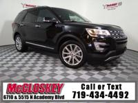 Luxury Loaded Limited Ford Explorer! Leather, Third