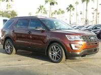 LOW MILES, This 2016 Ford Explorer Sport will sell fast