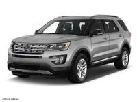 Recent Arrival! 2016 Ford Explorer XLT CARFAX
