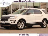 FORD CERTIFIED PRE-OWNED 2016 Ford Explorer XLT 2.3L I4