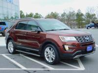 2016 Ford Explorer XLT Four Wheel Drive With Navigation