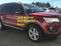 CARFAX 1-Owner, Excellent Condition. XLT trim, Ruby Red