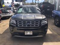 2016 Ford Explorer XLT Magnetic AWD 6-Speed Automatic