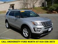 CARFAX One-Owner. Clean CARFAX. 2016 Ford Explorer XLT
