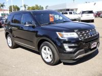 Options:  2016 Ford Explorer 4Wd 4Dr Xlt Used|Black