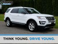 2016 Ford Explorer. AWD, Brake assist, Dual front