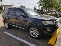Shadow Black 2016 Ford Explorer XLT FWD 6-Speed