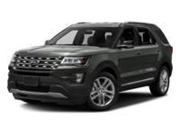 Options:  2016 Ford Explorer Xlt|Black/|V6 3.5 L