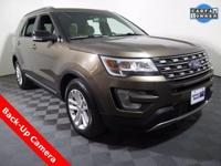2016 Ford Explorer XLT and 3.5L Engine. Leather
