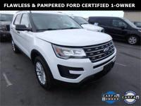 ***WOW! FLAWLESS FORD CERTIFIED 2016 EXPLORER! **REAR
