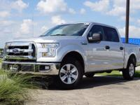 2016 Ford F-150 XLT in Ingot Silver Metallic, This