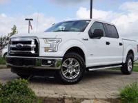 2016 Ford F-150 XLT in Oxford White, This F-150 comes