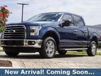 2016 Ford F-150 XLT in Blue Jeans Metallic, This F-150