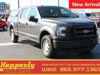 CARFAX One-Owner. This 2016 Ford F-150 XL in Magnetic