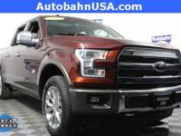 Bronze Fire Metallic 2016 Ford F-150 King Ranch 4WD
