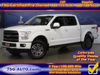 **** JUST IN FOLKS! THIS 2016 FORD F-150 LARIAT HAS