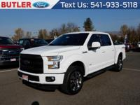 White 2016 Ford F-150 4WD 6-Speed Automatic Electronic