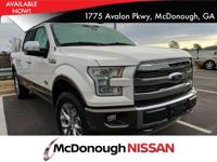 Come see this 2016 Ford F-150 King Ranch. Its Automatic