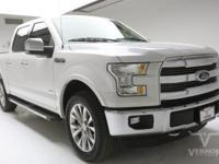 This 2016 Ford F-150 Lariat Crew Cab 4x4 Fx4 with only